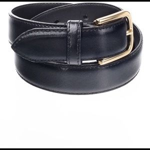 BLACK American Apparel belt, size XS, S